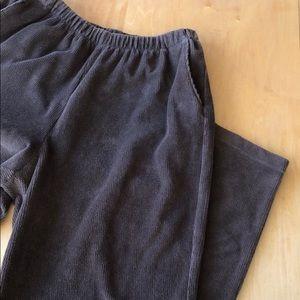 Lands End sport knit corduroy pants